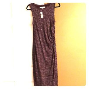 NWT Purple sleeveless dress by loft